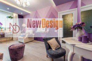 фиолетовый цвет в интерьере - фото 23