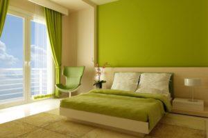 оливковый цвет в интерьере - фото 22