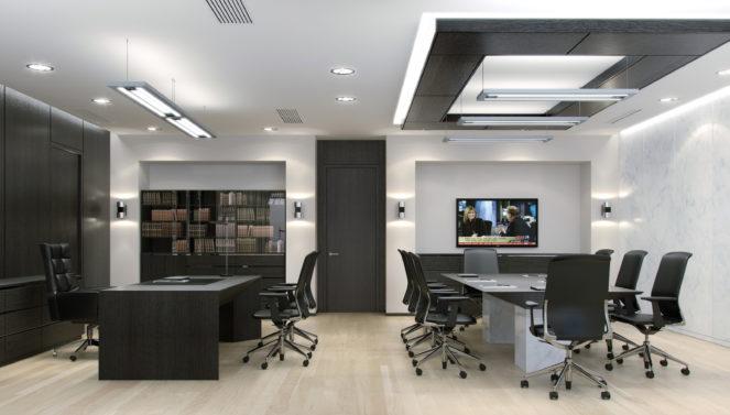 Каким должен быть дизайн офиса?