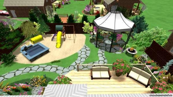 Ландшафтный дизайн для детей