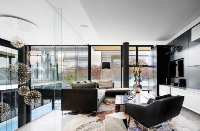 Современный ремонт квартиры Глянцевые поверхности