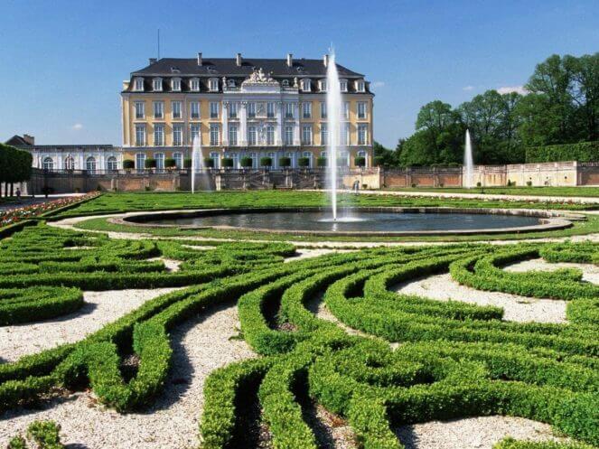 Ландшафтный дизайн Французский