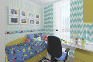 Дизайн интерьера ЖК Аметист 93м2, фото 3