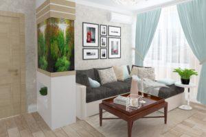 Дизайн интерьера ЖК Аметист 93м2, фото 11